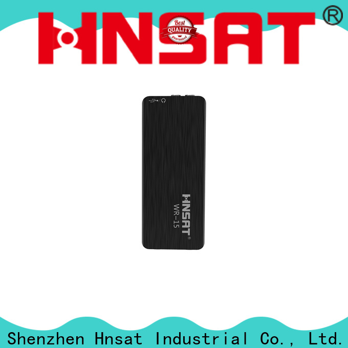 Hnsat Latest tiny spy recorder Supply for voice recording