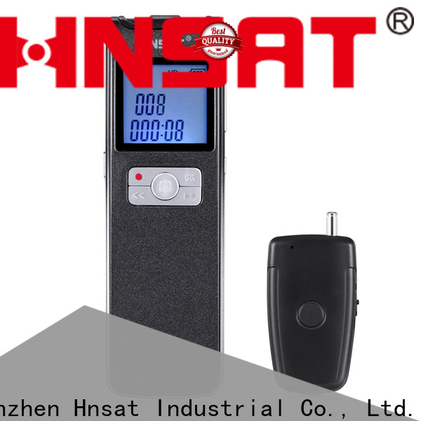 Hnsat Best portable voice recorder device company for record