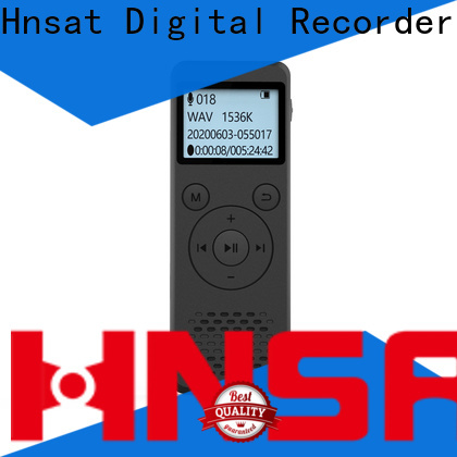 Hnsat digital recorder professional factory for voice recording