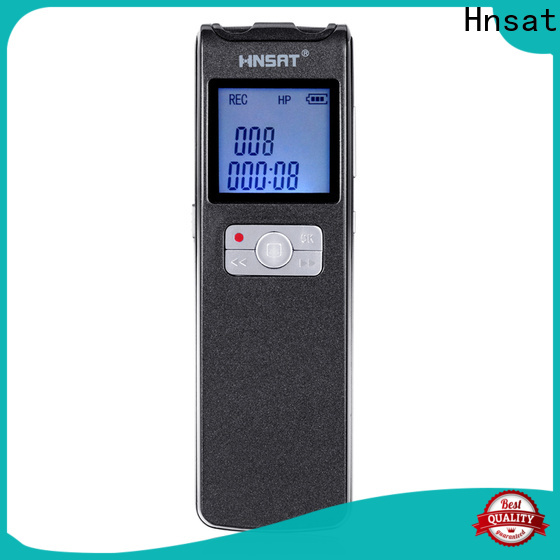 Hnsat Custom digital audio recorder mp3 manufacturers for voice recording