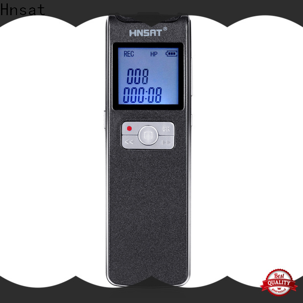 Hnsat digital audio recorder mp3 for business for record