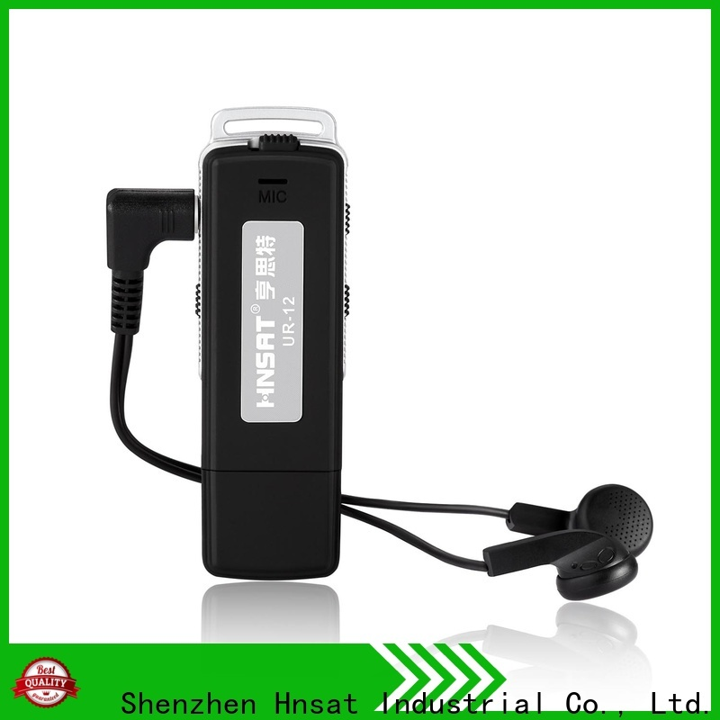 Hnsat Wholesale small hidden voice recording devices for business for taking notes