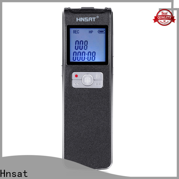 Hnsat professional digital audio recorder Supply for taking notes