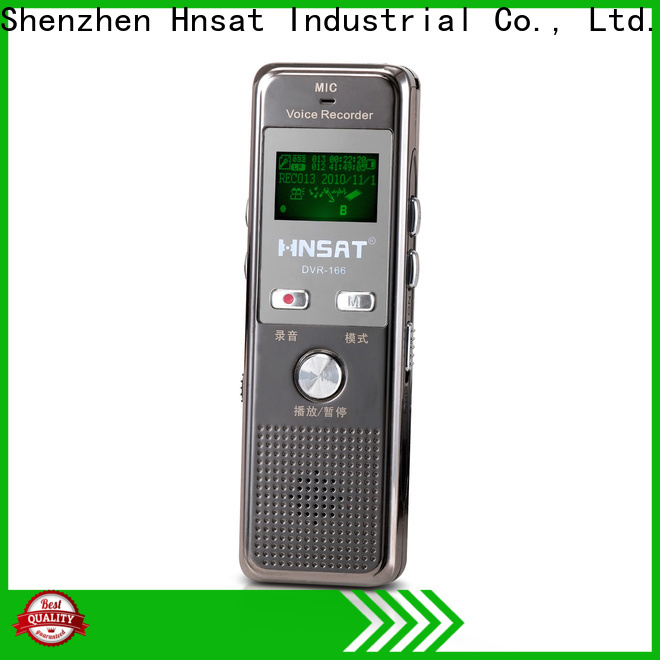 Hnsat digital mp3 voice recorder factory for voice recording