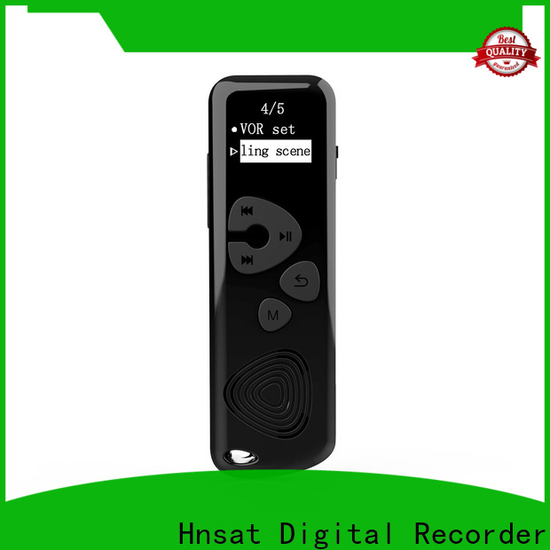 Hnsat Wholesale portable voice recorder device Supply for voice recording