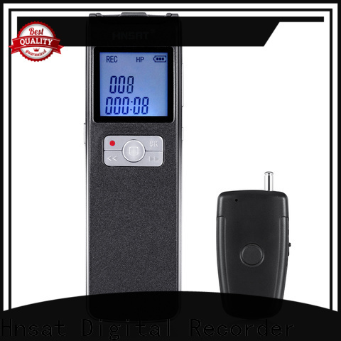 Hnsat Wholesale best portable voice recorder Supply for voice recording
