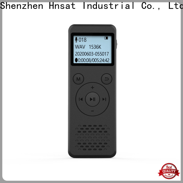 Hnsat digital mp3 voice recorder Suppliers for taking notes