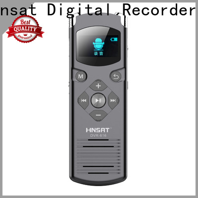 Hnsat Custom portable digital voice recorder company for record