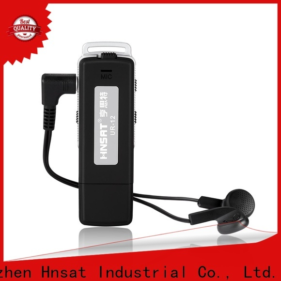 Hnsat Top spy audio voice recorder manufacturers for taking notes
