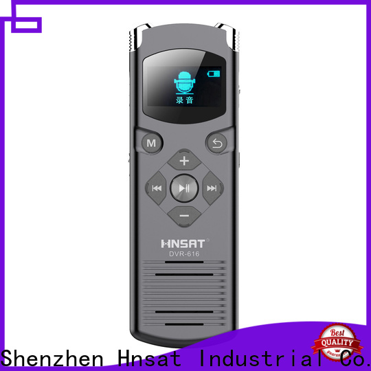 Hnsat New portable voice recorder device manufacturers for voice recording