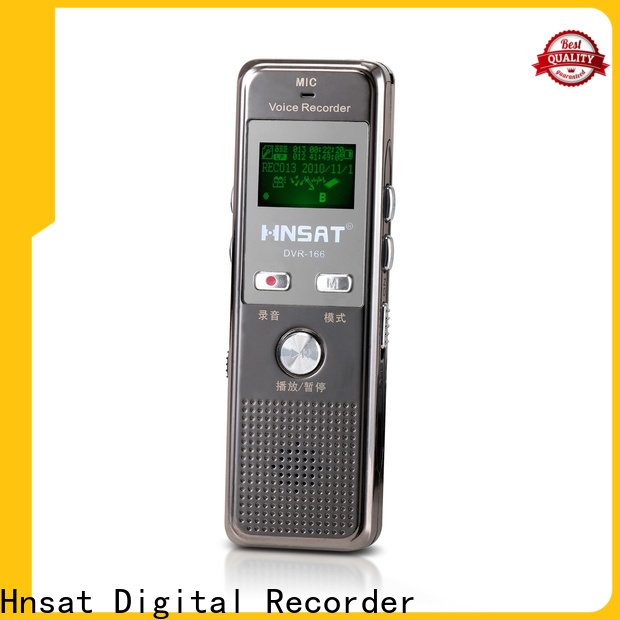 Hnsat High-quality latest digital voice recorder manufacturers for record