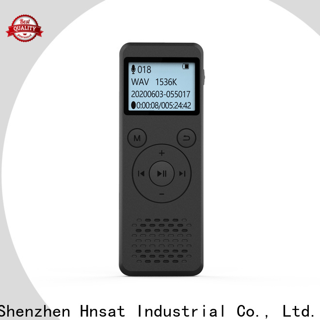 Hnsat voice recorder machine for business for voice recording