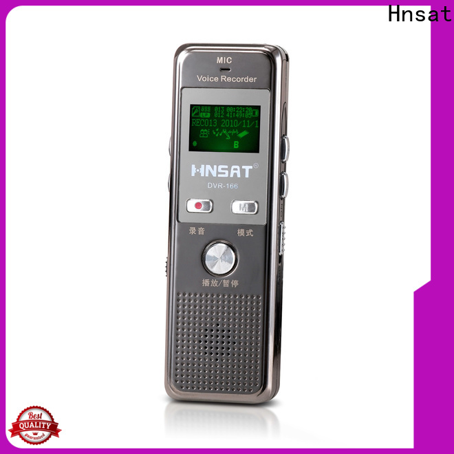 Hnsat mp3 voice recorder device manufacturers for record