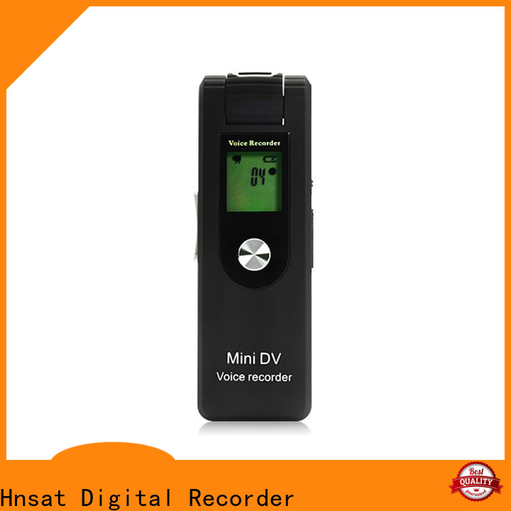 Wholesale spy camera and audio recorder Supply For recording video and sound