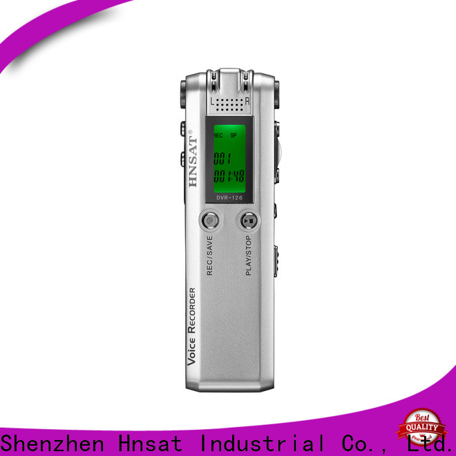 Hnsat New best price voice recorder company for voice recording