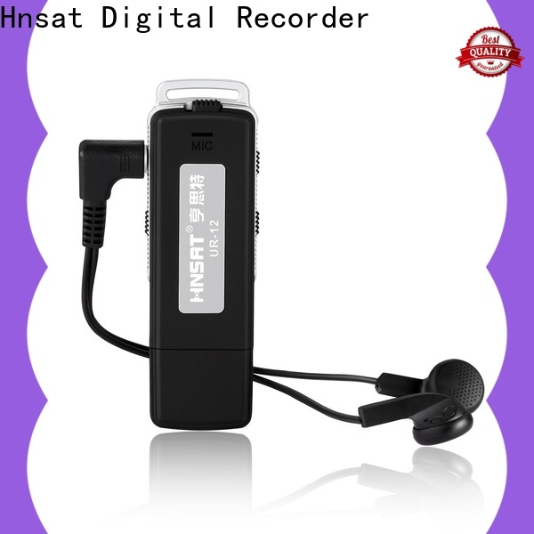 Hnsat spy audio device factory for voice recording
