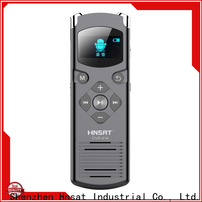 Hnsat portable voice recorder device manufacturers for voice recording