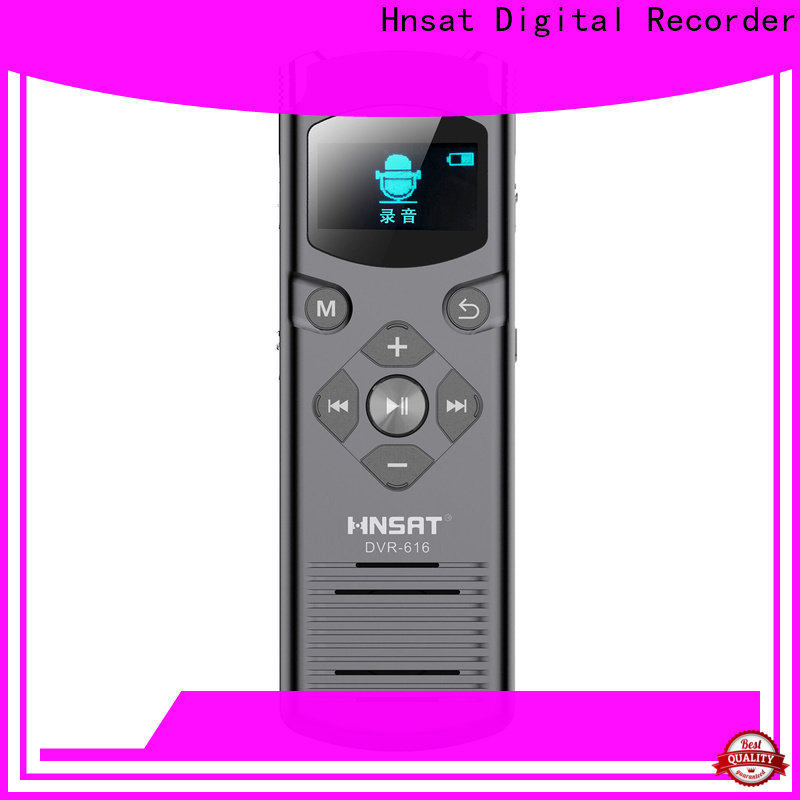 Hnsat Wholesale best professional voice recorder Supply for record