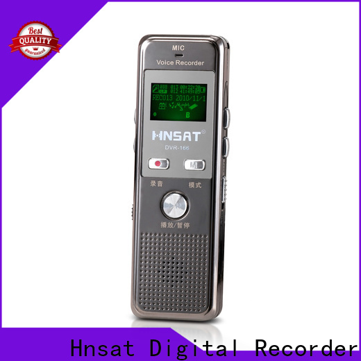 Hnsat Latest digital recorder professional Suppliers for voice recording