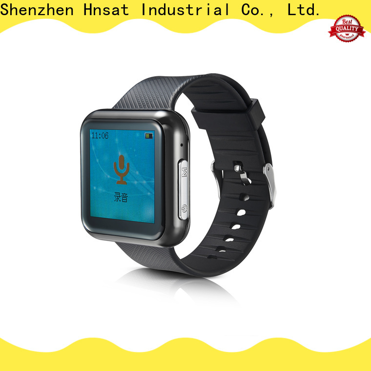 Hnsat wearable voice recorder for business for record