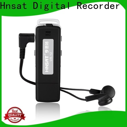 Hnsat small sound recording device for business for record