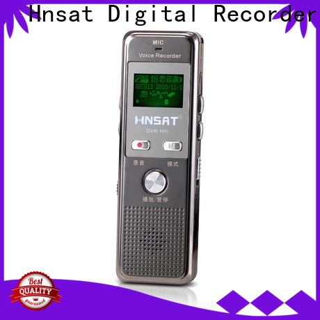 Hnsat professional digital sound recorder Suppliers for voice recording