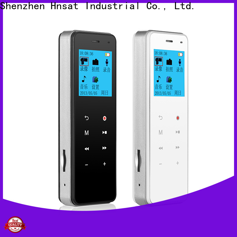 Hnsat mini hidden spy camera for business For recording video and sound