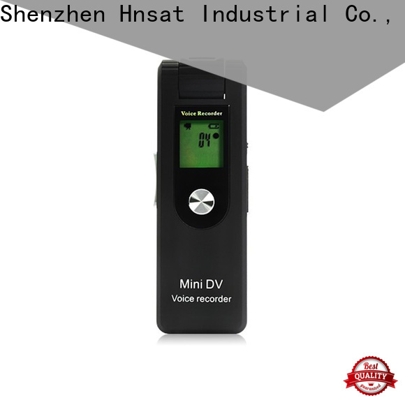 Hnsat New audio video spy camera factory For recording video and sound
