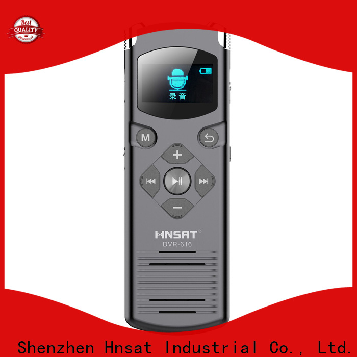 Hnsat professional digital voice recorder factory for record