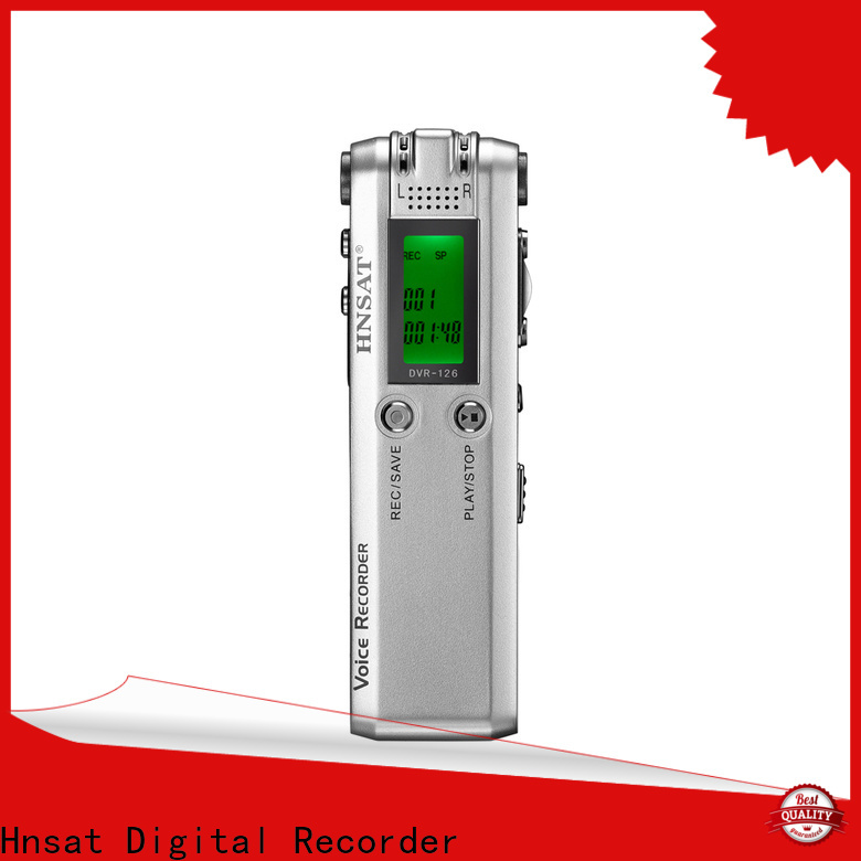 Hnsat professional voice recorder company for record