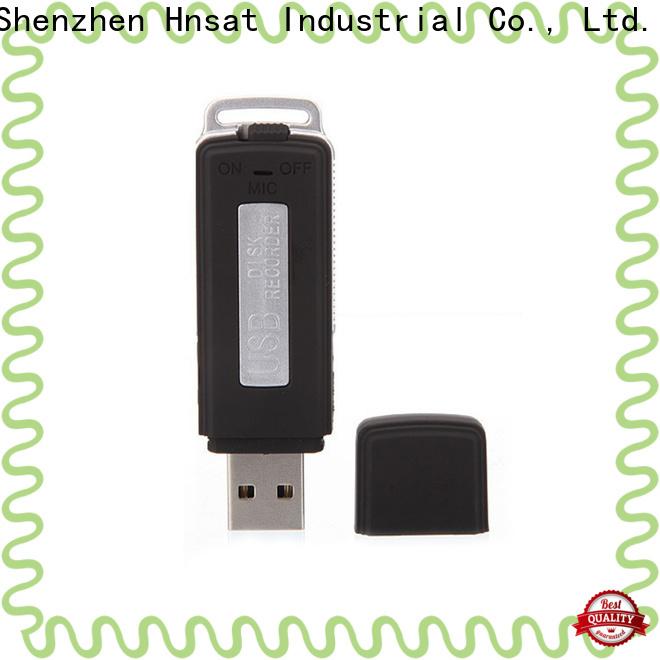 Hnsat Top mini audio recording devices company for record