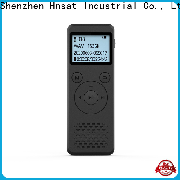 Hnsat Hnsat professional digital voice recorder manufacturers for voice recording