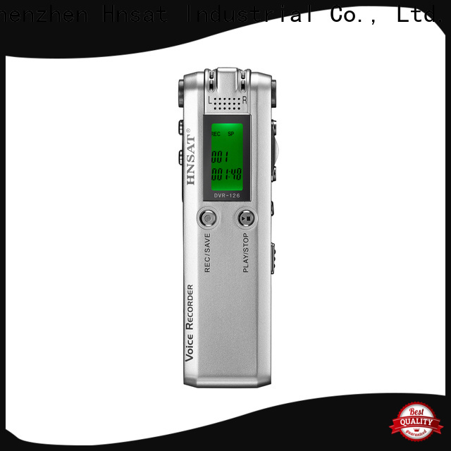 Hnsat Wholesale digital audio recorder mp3 company for taking notes