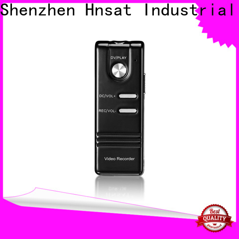 Hnsat Wholesale micro spy recording devices Supply For recording video and sound