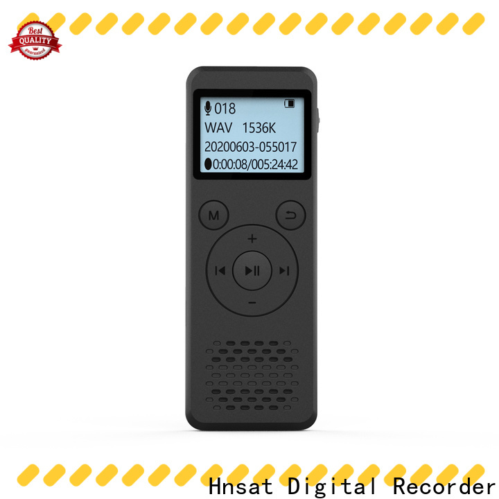 Hnsat high quality voice recorder device Suppliers for voice recording