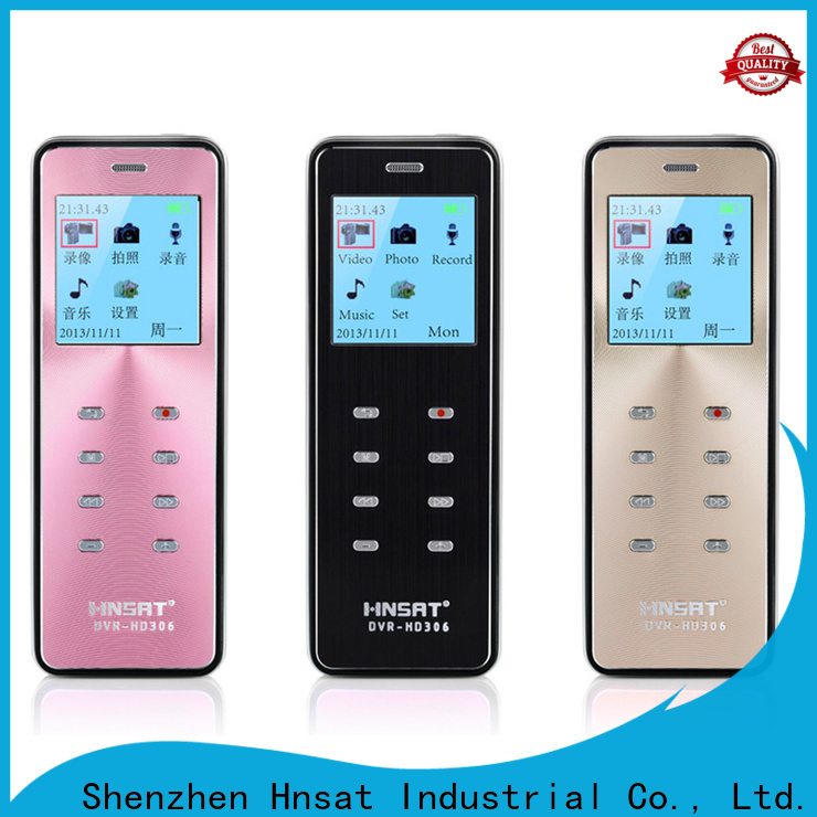 Hnsat mini spy recorder factory for protect loved ones or assets