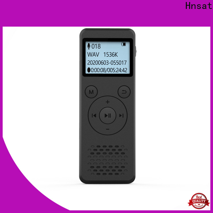 Hnsat professional digital sound recorder factory for record