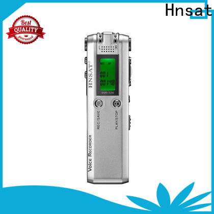 Hnsat Best voice recorder machine company for voice recording