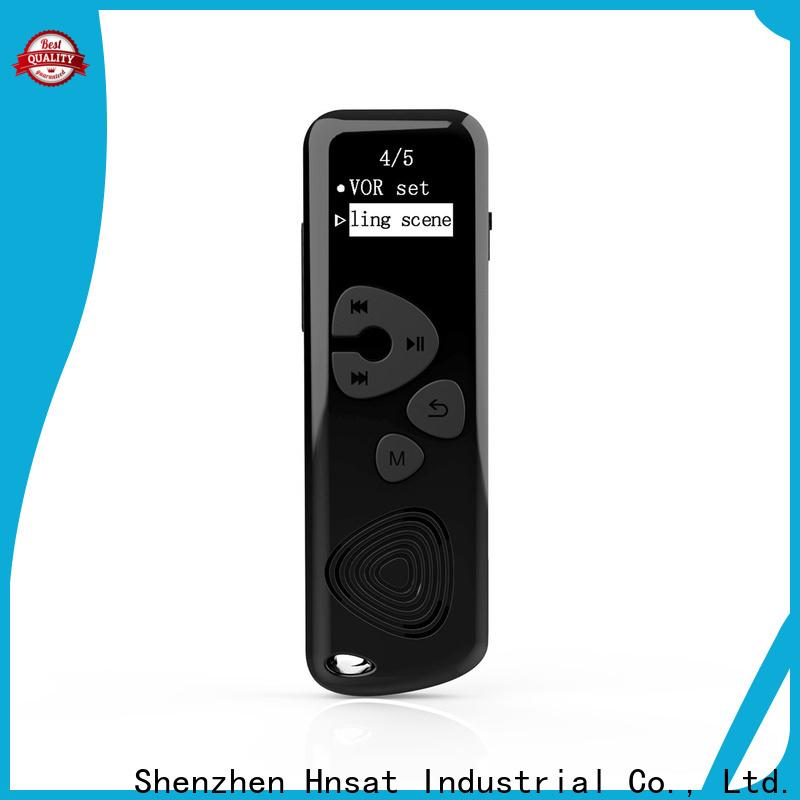 Hnsat Best professional digital sound recorder manufacturers for taking notes