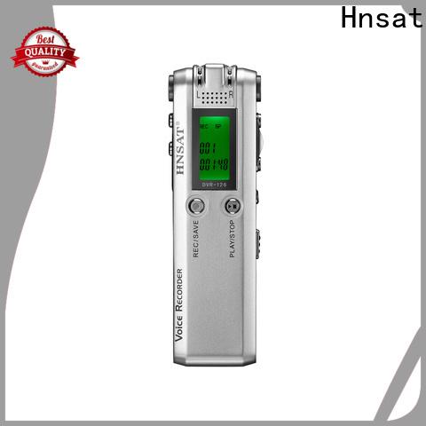 Hnsat digital sound recorder manufacturers for voice recording