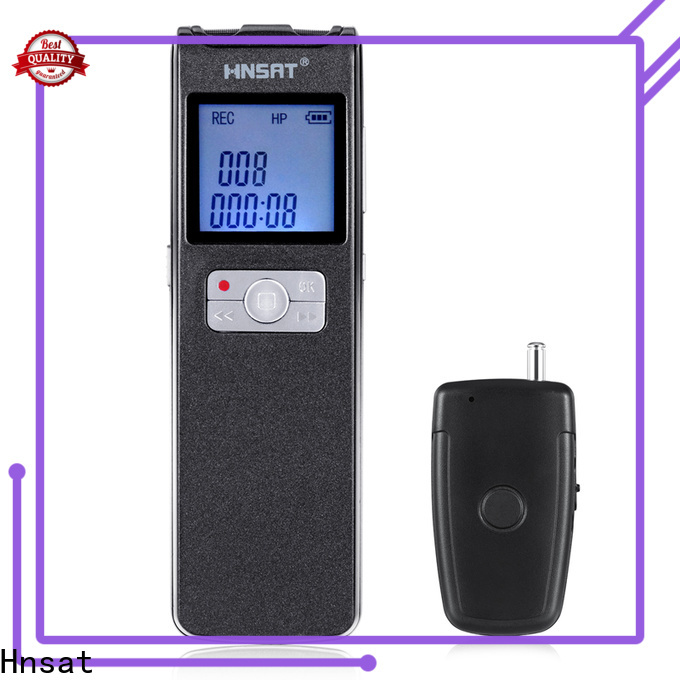 Hnsat High-quality professional digital voice recorder Suppliers for voice recording
