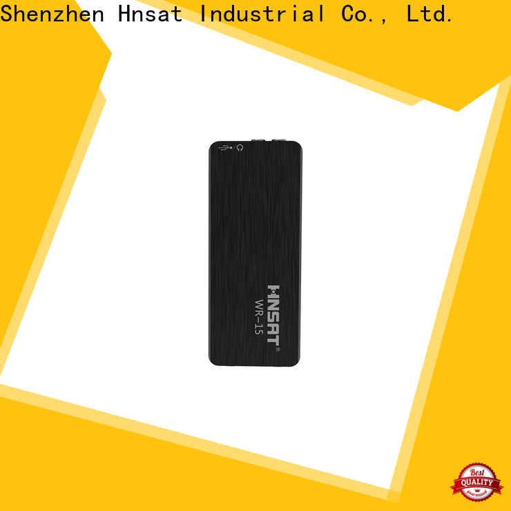 Hnsat covert voice recorder Suppliers for taking notes