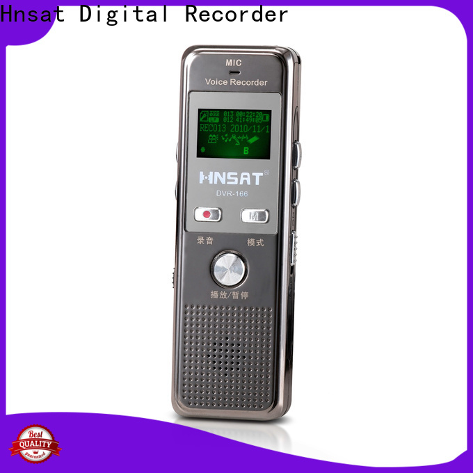 Hnsat Latest digital mp3 voice recorder Supply for taking notes
