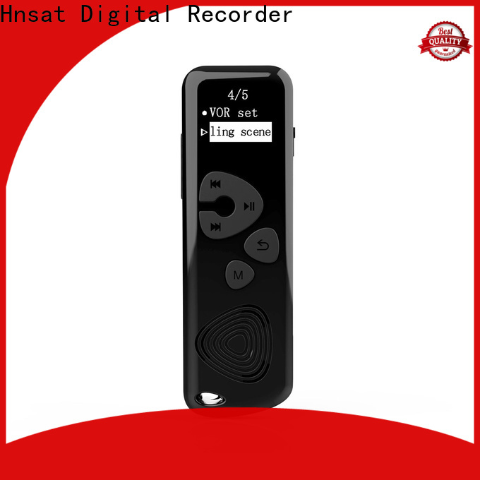 Hnsat Latest digital voice recorder machine manufacturers for record