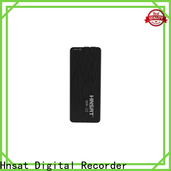 Hnsat Wholesale sound recorder mini Suppliers for taking notes