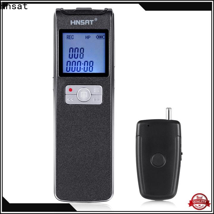 Hnsat Top portable digital voice recorder manufacturers for voice recording