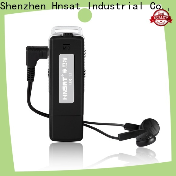 Hnsat Best voice activated spy recorder company for taking notes