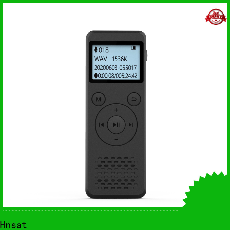 Hnsat High-quality digital mp3 voice recorder manufacturers for taking notes