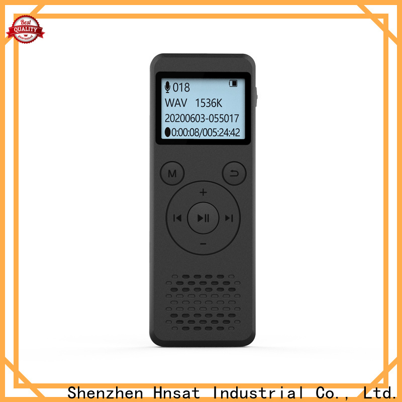 Hnsat best professional voice recorder Supply for taking notes