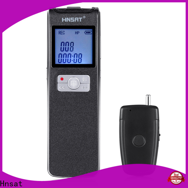 Hnsat Top best price voice recorder Supply for voice recording